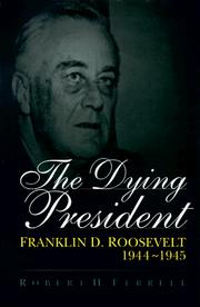 Cover of: The dying president