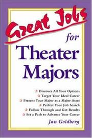 Cover of: Great jobs for theater majors