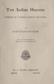 Cover of: Ten Indian hunters