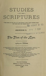Cover of: Studies in the Scriptures