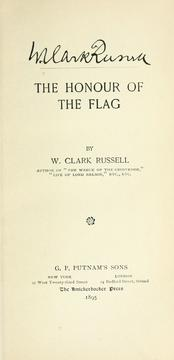 Cover of: The honour of the flag