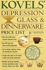 Cover of: Kovels' depression glass & dinnerware price list