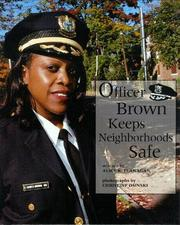 Cover of: Officer Brown keeps neighborhoods safe