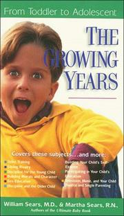Cover of: The growing years