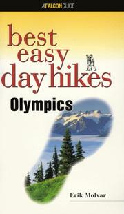 Cover of: Best easy day hikes, Olympics