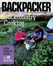 Cover of: Backcountry cooking