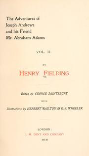 Cover of: [Henry Fielding]: scenes and characters