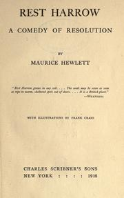 Cover of: Rest Harrow: A Comedy of Resolution