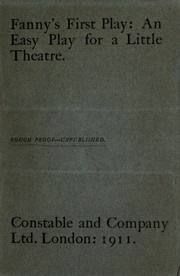 Cover of: Fanny's first play