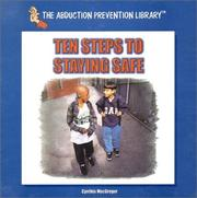 Cover of: Ten steps to staying safe