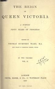Cover of: The Reign Of Queen Victoria
