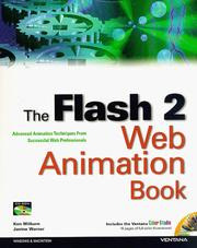 Cover of: The Flash 2 Web animation book