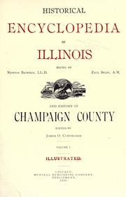 Cover of: Historical encyclopedia of Illinois