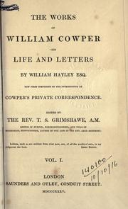 Cover of: Works: [with] his Life and letters
