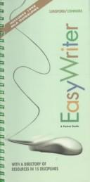 Cover of: Easy writer