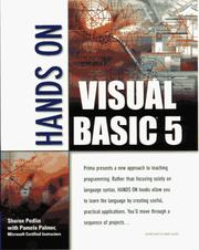 Cover of: Hands on Visual Basic 5