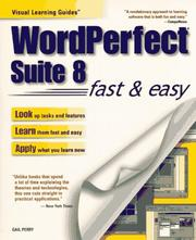 Cover of: WordPerfect Suite 8 fast & easy