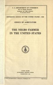 Cover of: Fifteenth census of the United States: 1930