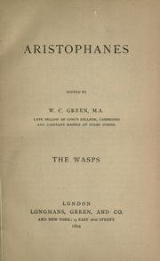 Cover of: Wasps