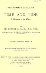 Cover of: Time and tide