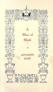 Cover of: A Man of Mark