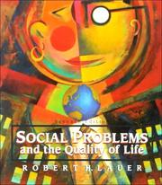 Cover of: Social problems and the quality of life