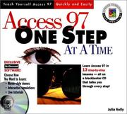Cover of: Access 97 one step at a time