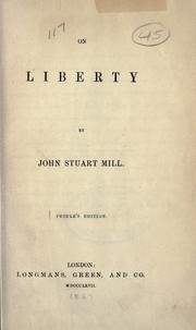 Cover of: On Liberty