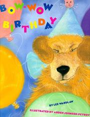 Cover of: Bow-wow birthday