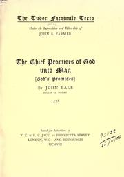 Cover of: The chief promises of God unto man <God's promises>