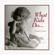 Cover of: What kids do