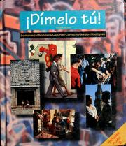 Cover of: Dímelo tú!