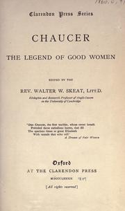 Cover of: The legend of good women