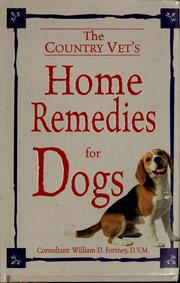Cover of: Country vet's home remedies for dogs