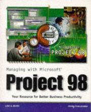 Cover of: Managing with Microsoft Project 98