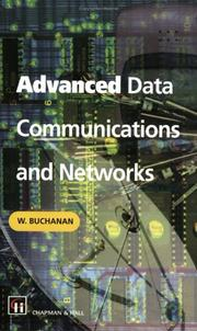 Cover of: Advanced data communications and networks
