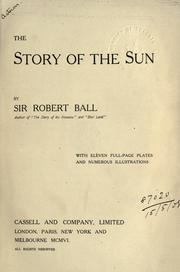 Cover of: The story of the sun