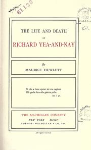 Cover of: The works of Maurice Hewlett