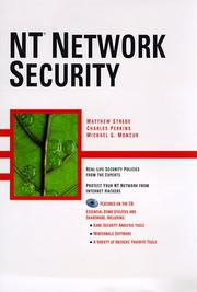 Cover of: NT network security