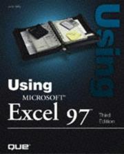 Cover of: Using Microsoft Excel 97