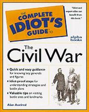 Cover of: The complete idiot's guide to the Civil War