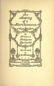 Cover of: The making of a marchioness