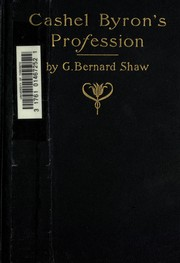 Cover of: Cashel Byron's Profession