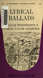 Cover of: Lyrical Ballads