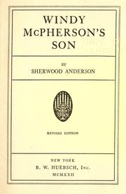 Cover of: Windy McPherson's son