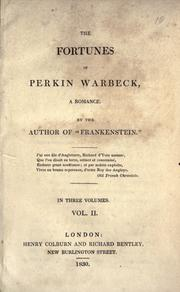 Cover of: The  fortunes of Perkin Warbeck: A Romance