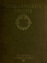 Cover of: Shakespeare's songs