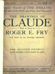 Cover of: The drawings of Claude