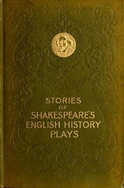 Cover of: Stories of Shakespeare's English history plays