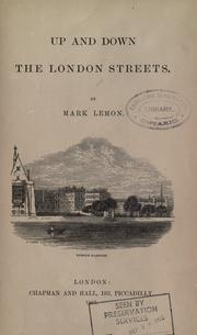 Cover of: Up and down the London streets